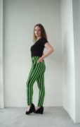БРЮКИ Greenery stripes