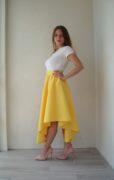 Желтая юбка Peony OXYmoronShop