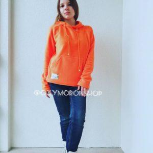 Оранжевая Толстовка Hoodie Orange Sunrise