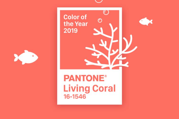 Living Coral - самый модный цвет 2019 года