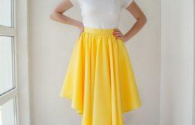 Желтая юбка Peony