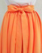 Оранжевая юбка Peony